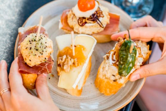 Vegetarian and authentic madrid spanish tapas