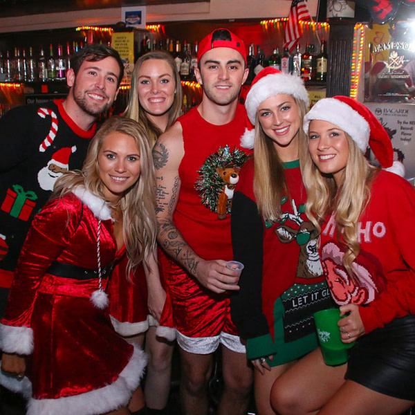Santa bar hopping madrid