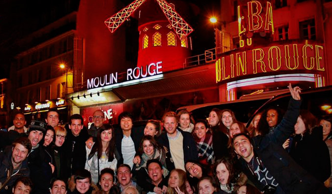 Paris pub crawl